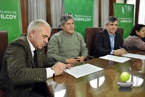 LA MUNICIPALIDAD DE CHIVILCOY FIRMÓ UN CONVENIO CON EL DISTRITO 5 DEL COLEGIO DE ARQUITECTOS